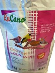 LuCano Exoten Futter Gold-Mix mit Früchten