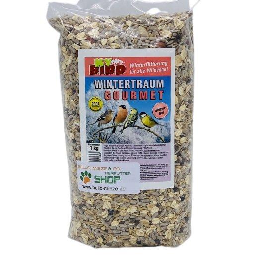 Wintertraum Gourmet    Winterfutter für alle Wildvögel   ohne Weizen