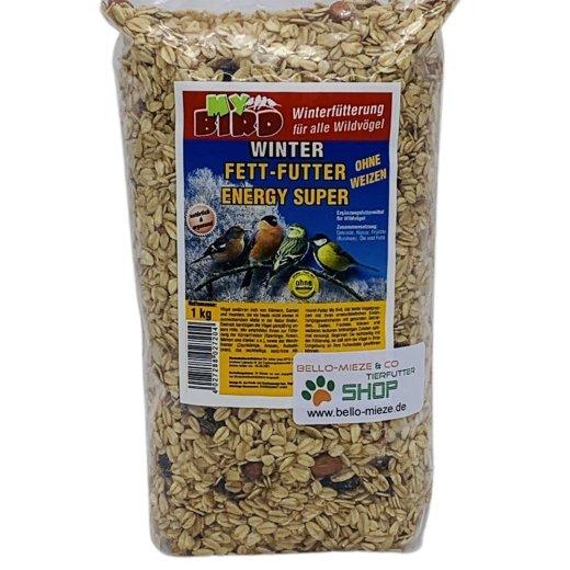 Winter Fett-Futter Energy Super    Winterfutter für alle Wildvögel   ohne Weizen