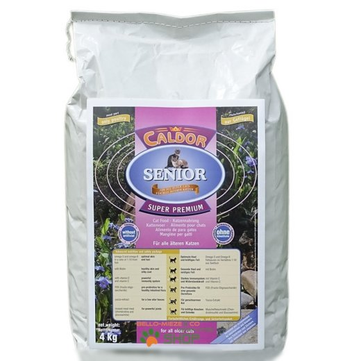 CaldorCat Senior nur Geflügel | Premium Trocken Katzenfutter
