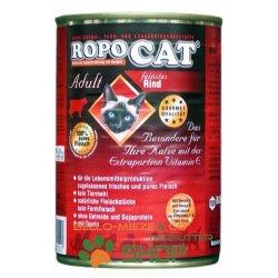 RopoCat Adult Rind | Katzen Nassfutter - Dosenfutter mit...