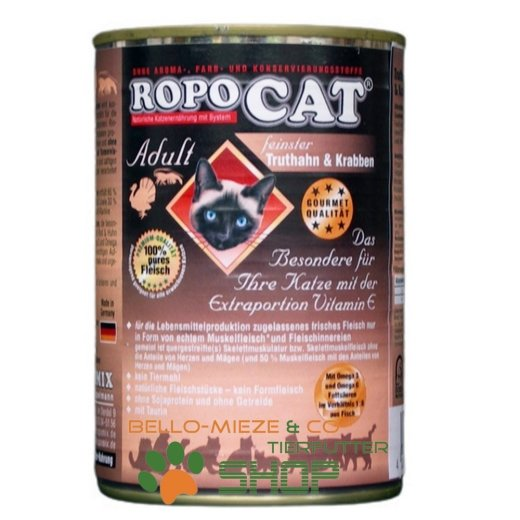 RopoCat Adult Truthahn & Krabben