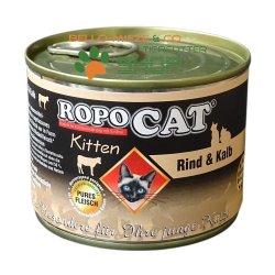 RopoCat Kitten Rind & Kalb | Katzenfutter - Katzen...