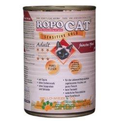 RopoCat Adult Sensitive Gold Pferd pur 24 Dosen à...