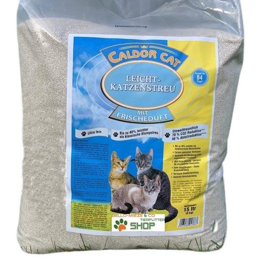 15 ltr leicht Katzenstreu Caldor CAT | ultrafrein | mit Feinduft