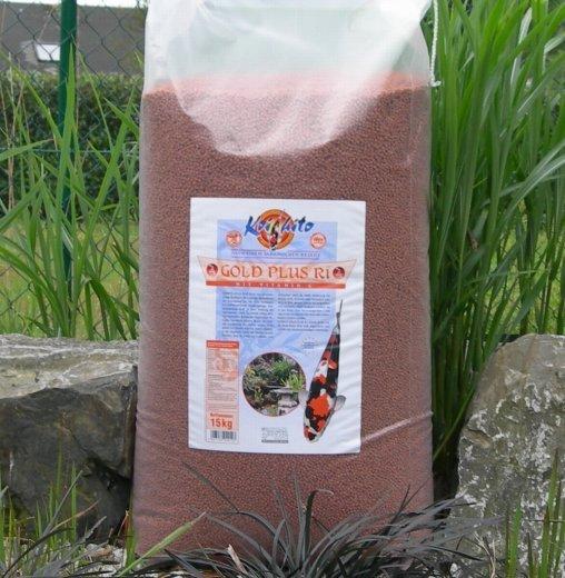 KoiFutter Koihito Gold Plus R1 5 mm in bester Züchterqualität