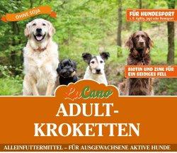LuCano Adult Premium-Krokette Soja frei / mit Biotin und...