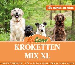 LuCano Kroketten Mix XL | für mittelgroße und große Hunde Rassen ab 20 kg