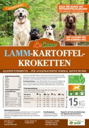 LuCano Lamm Kartoffel | getreidefreies Hunde Trockenfutter