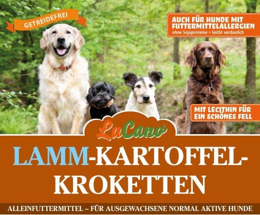 LuCano Lamm Kartoffel | getreidefreies Hunde Trockenfutter 15 kg