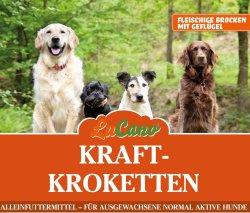 LuCano Kraft - Krokette | Trockenfutter | fleischige...