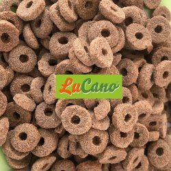 LuCano Ring Premium Krokette / Hunde Trockenfutter mit...