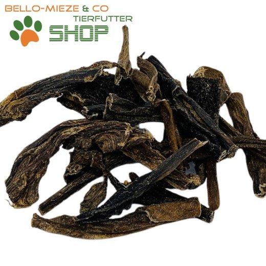 Trockenpansen | luftgetrocknet | 500 gr. | ca. 8-10 cm lange Streifen