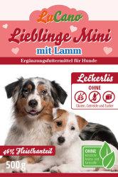 Leckerlis LuCano Lieblinge Mini + Lamm getreidefrei glutenfrei und ohne Zucker | Hunde Snack 0,15 kg