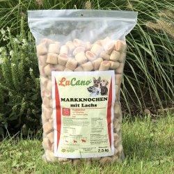 LuCano Markknochen mit Lachs / Hundekuchen zur Zahnpflege...
