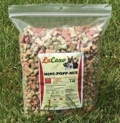 LuCano Mini Pöp Mix | Hundekuchen klein aber fein 1 kg