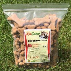 LuCano Mini Knochen | harter Hundekuchen zur Zahnpflege...
