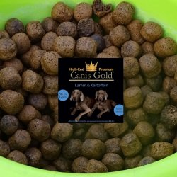 Canis Gold Adult 58 % Lamm + Kartoffeln  ( 2,5 kg  Lamm + 2,5 kg Kaninchen)