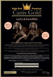 Canis Gold Adult 58 % Lachs + Kartoffel (Monoprotein)