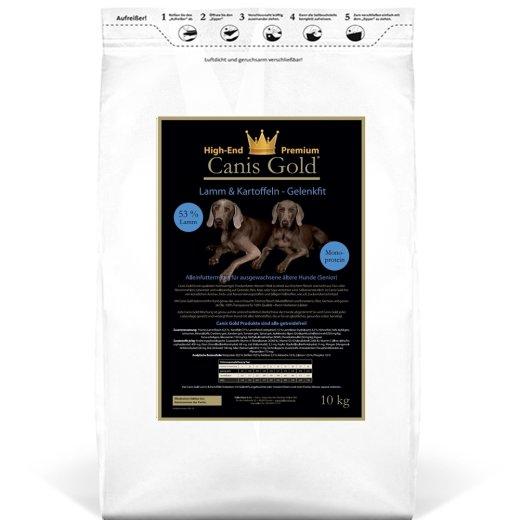Canis Gold Senior Lamm + Kartoffel, 53 % Fleisch mit Gelenkfit 5 kg