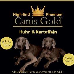 Canis Gold Adult 63 % Huhn + Kartoffeln (Monoprotein) | getreidefrei | Hundefutter - Trockenfutter 10 kg