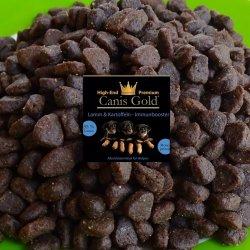 Canis Gold Welpen | Junior Lamm + Kartoffel | 55 % Fleisch | Welpen Trockenfutter getreidefrei 10 kg