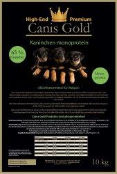 Canis Gold Welpen | Junior Kaninchen + Kartoffel | 65 %...