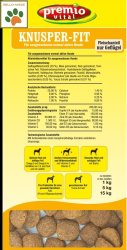 Premio Vital Knusper-Fit   Hunde Trockenfutter Geflügel + Reis   glutenfrei