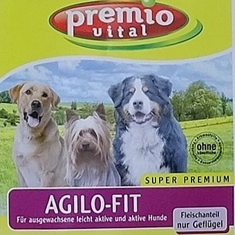 Premio Vital Agilo-Fit   Geflügel + Reis und Kartoffeln   Hunde Trockenfutter