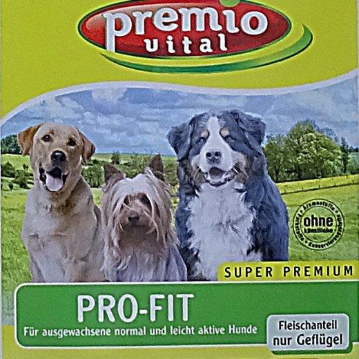Premio Vital Pro-Fit | Hunde Trockenfutter Geflügel + Reis und Kartoffel