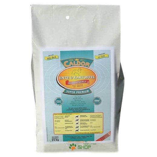 Caldor Maintenance Ente Kartoffel | Hunde Trockenfutter getreidefrei 15 kg