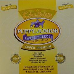 Caldor Junior Gigant mit 30 % Huhn & Mais 15 kg