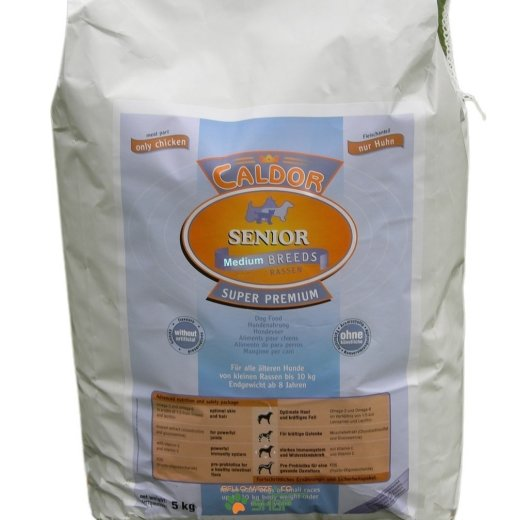 Caldor Senior nur Huhn mit Reis + Mais | Medium