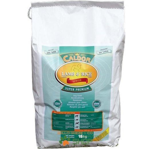 Caldor Senior nur Lamm & Reis | alle Rassen 1 kg