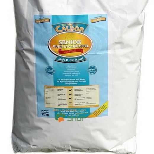 Caldor Senior nur Huhn & Kartoffel   alle Rassen   getreidefrei