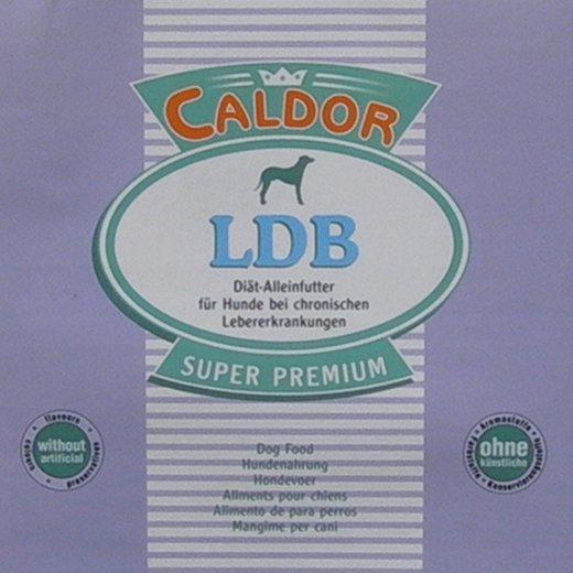 CaldorVet LDB Diät Futter bei chronischen Leber Erkrankungen   phosphorarm