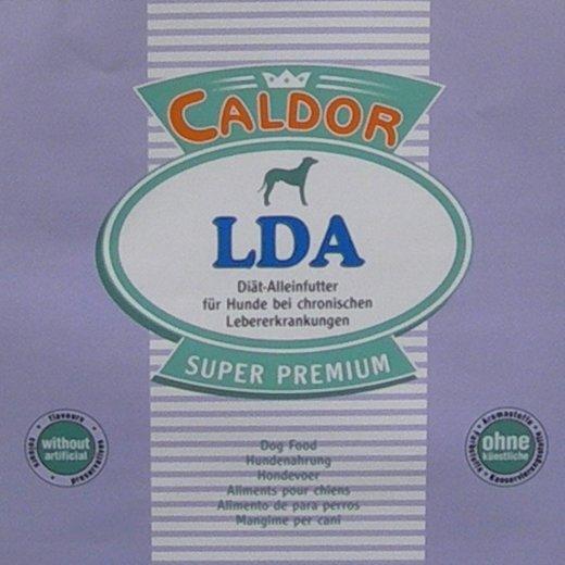 CaldorVet LDA Diät Futter bei chronischen Leber Erkrankungen | phosphorarm