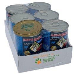 RopoDog Adult Rind & Lamm - 100% Fleisch 24 Dosen...