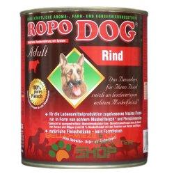 RopoDog Adult Rind - 100 % Fleisch mit ganzen...