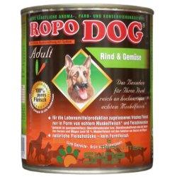 RopoDog Adult Rind & Gemüse 12 Dosen à...