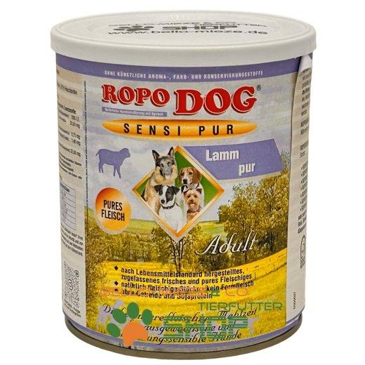 RopoDog Adult Sensi Pur Lamm - pures Fleisch