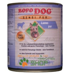 RopoDog Adult Sensi Pur Lamm - pures Fleisch 400 gr