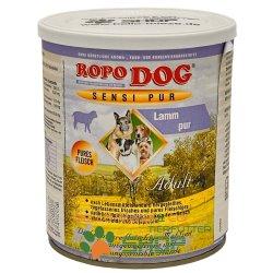 RopoDog Adult Sensi Pur Lamm - pures Fleisch 24 Dosen...
