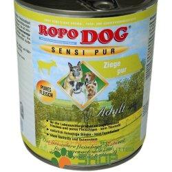 RopoDog Adult Sensi Pur Ziege - pures Fleisch