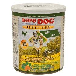 RopoDog Adult Sensi Pur Wild - pures Fleisch 12 Dosen...