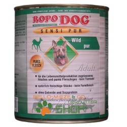 RopoDog Adult Sensi Pur Wild - pures Fleisch 30 Dosen...