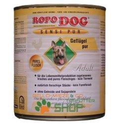 RopoDog Adult Sensi Pur Geflügel - pures Fleisch 24...