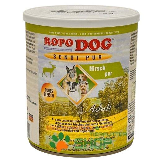 RopoDog Adult Sensi Pur Hirsch - pures Fleisch