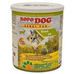 RopoDog Adult Sensi Pur Hirsch - pures Fleisch 30 Dosen...