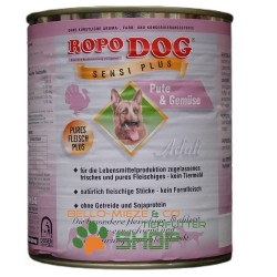 RopoDog Adult Sensi Plus Pute & Gemüse 400 g
